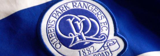 QPR club badge on shirt